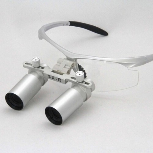 5.0X Medical Loupes Dentist Magnifier Binocular Dental Loupe Glasse Microsurgery