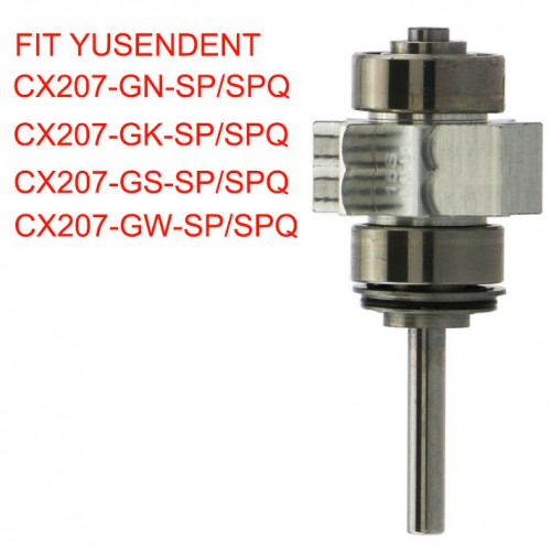 YUSENDENT Dental Cartridge Rotor CX207-G-SP For Fiber Optic Standard Head Handpiece