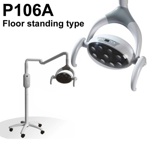 Saab® P106A Dental Oral Light Patient Light Floor Standing (Mobile Type)