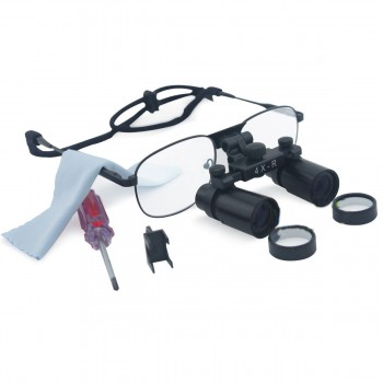 Dental Surgical 4X 360-460mm Loupes Medical Binocular Glasses Magnifier
