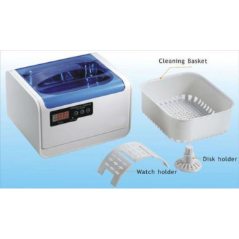 1.4L Jeken Dental Mini Digital Ultrasonic Cleaner Machine CE-6200A with Cleaning Basket