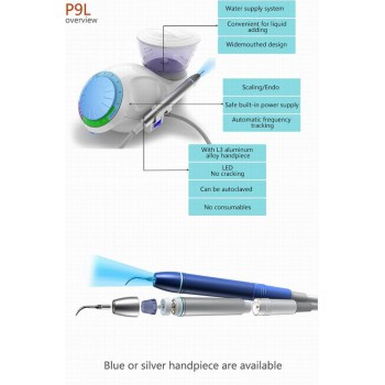 BAOLAI  P9L Dental Auto Water Supply Scaler with L3 LED Detachable Handpiece
