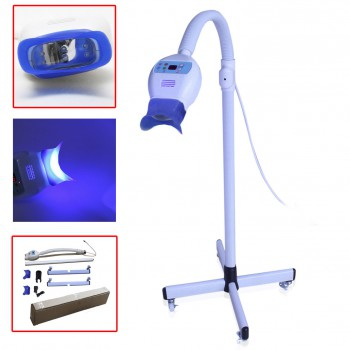 Mobile Dental Teeth Whitening LED Lamp Light Bleaching Accelerator Wheel