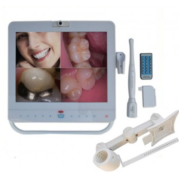 15 Inch Wireless Monitor Intra Oral Camera VGA+VIDED+USB&LCD holder MD1500W