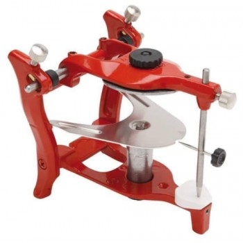 Dental Lab Articulator Anatomic Aluminium Red Dental Articulator
