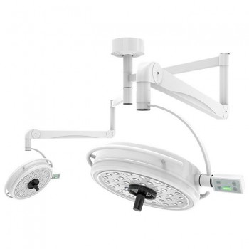 KWS KD-2072B-2 216W Two Headed Ceiling LED Surgical Exam Light Shadowless Lamp