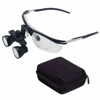 2.5X Dental Binocular Loupes Medical Magnifier Disassembly Antifogging Loupe