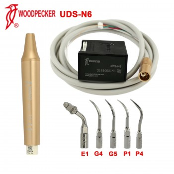 100% Woodpecker Dental Ultrasonic Pezio Built-in Scaler UDS-N6 Handpiece Tip EMS