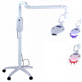 30W Dental Teeth Whitening Bleaching Machine Mobile LED 6 Blue Cold +4 Red Lamp