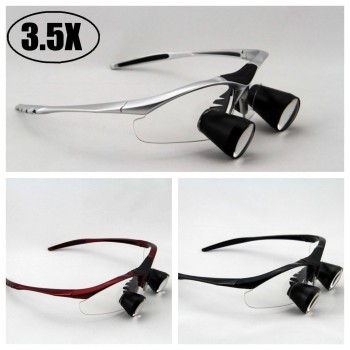 3.5X Dental Loupes Binocular Medical Loupe Surgical Magnifier Glass TTL
