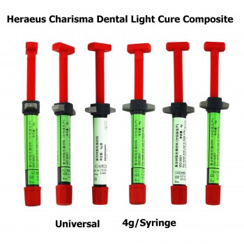 5 Pcs Charisma Dental Light Cure Composite Resin Universal 4g A1 A2 A3 A3.5 OA2