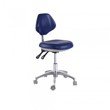 Adjustable PU Leather Medical Dental Mobile Chair Doctor's Stools Office Stool