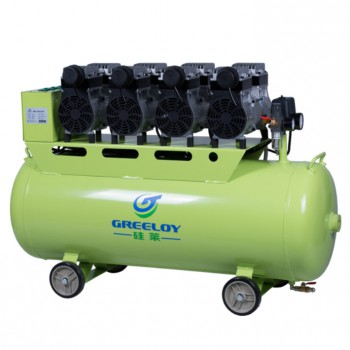 Greeloy® GA-84 Dental Slient Oilless Air Compressor 620L/min