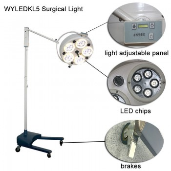 Dental Medical Surgery light LED Shadowless Operating Lamp WYLEDKL5