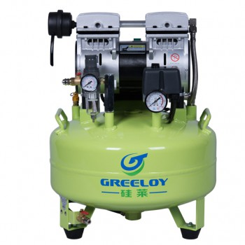Greeloy® Dental Oilless Air Compressor GA-61 One By One