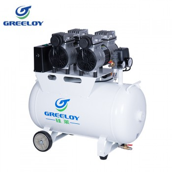 Greeloy GA-62 Ultra Quiet 1.5HP 60L Dental Air Compressor with Check Valve