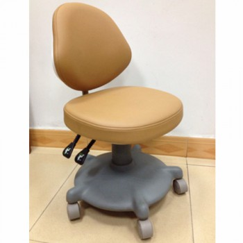 QY® QY600 Doctor Stool Adjustable Mobile Operatory Chair (Leather Type 20 Colors...