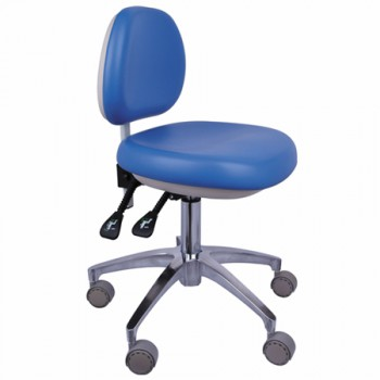 QY® QY-500 Dentists Stool Height Adjustable PU Leather