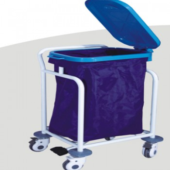 ZL® ZL-J-W85 Dental Waster Collecting Cart (Stainless Steel Trolley)