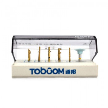 Toboom® FG0610D Kits for Preparation Anterior Teeth Ceramics/Zicronia Crown 10Pc...