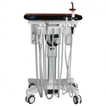 Greeloy GU-P 302S Adjustable Portable Mobile Dental Delivery Cart Unit Treatment...