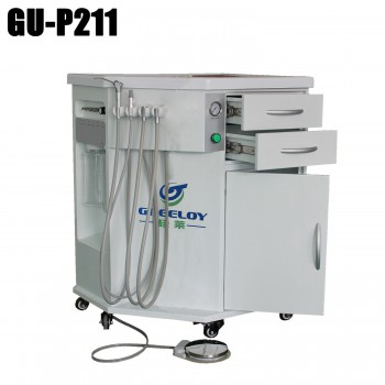 Greeloy® GU-P211 Dental All in One Portable Dental Delivery Cart Unit