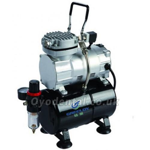 1/5Hp 3L Tank Greeloy GW-106 Portable Mini Air Compressor with Single Cylinder