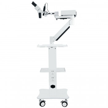 Dental Surgical Operating Microscope with 5W LED Light&Trolley Cart Unit for ENT