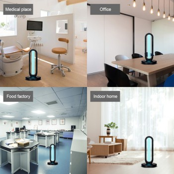 2020 New Air Purification System UVC Portable Disinfection Lamp With Ozone UV Lamp Ultraviolet Germicidal Light