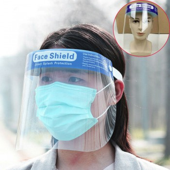 10Pcs High-definition Transparent Anti-Saliva Windproof Dustproof Hat Full Face ...