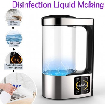 2000ML Portable Disinfection Liquid Making Machine Self-Made Disinfectant Machine