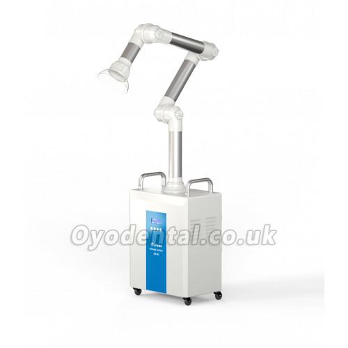 RUIWAN RD80 Dental Extraoral Vaccum Suction Units Terminator Aerosol Droplets Remover 4 Filters layer+ 2 UV lamps + Plas