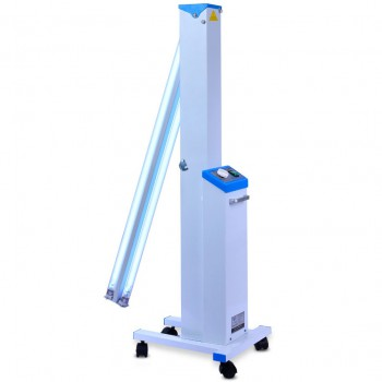 FY® 30DC Mobile UV+Ozone Disinfection Cart Ultraviolet Lamp UV Sterilizer Trolle...