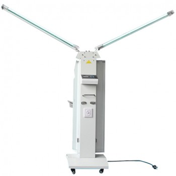 FY® 30FSI Mobile UV Trolley Cart UVC+Ozone Disinfection Lamp Ultraviolet Sterilizer With Infrared Sensor