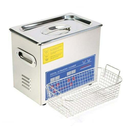 3L Tank Capacity Stainless Ultrasonic Cleaner Machine with Cleaning Basket