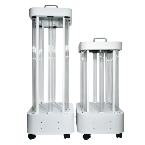 1500W Large Space UV Room Disinfection Lamp Mobile UVC Light Sterilizer for Factory Hospital