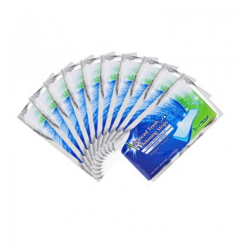 28Pcs/4 Boxes Professional Teeth Whitening Strips Double Elastic Whitestrips Tooth Gel Strips Dental Kit Oral Hygiene