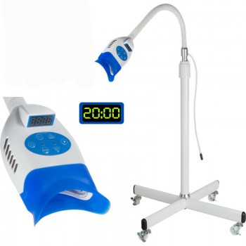 36W Floor Mobile Dental Teeth Whitening Cold LED Light Lamp Bleaching Machine