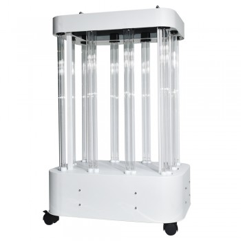 1000W Commercial UV Disinfection Lamp UVC Germicidal Light Sanitizer Mobile Sterilizer Lamp