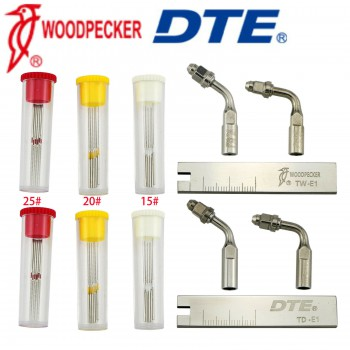 Woodpecker DTE Endo Tip U File Holder Wrench Scaler Root Canal Clean Kit Fit Sat...