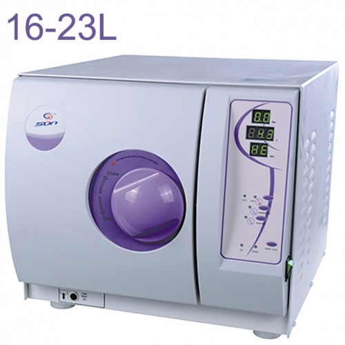 Sun® SUN-I-D Dental Autoclave Sterilizer Vacuum Steam 16-23L Class N