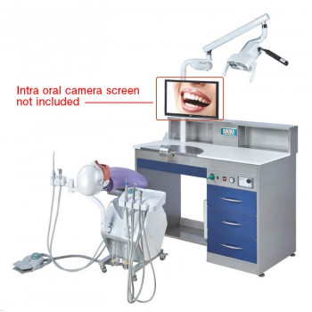 Jingle A8 Dental Simulator Student Training Solution with Electrical Control Phantom Head Simulation Unit