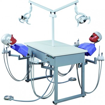 Jingle A4 Dental Double Teaching Manual Control Phantom Dental Simulation Unit