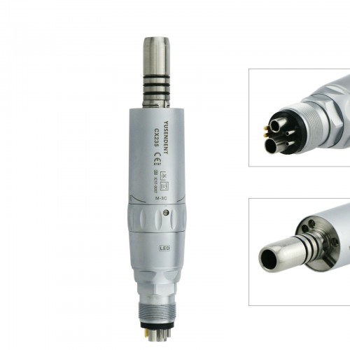 YUSENDENT COXO CX235-3C Dental LED Fiber Optic Air Motor Inner Water Handpiece 6 Hole Fit NSK X25L X65L