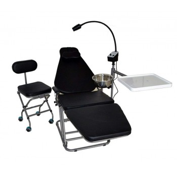 Dynamic DU32L Portable Dental Chair with LED Examination Light DLG101 and Dental...