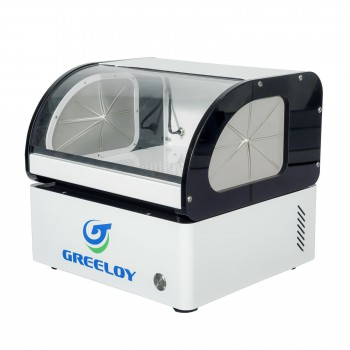 Greeloy 60W Dust Collector Machine Industrial Extractor with LED Lighting System and Filter