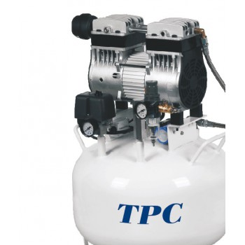 TPC DC701 32L Portable Dental Air Compressor Silent Oil Free