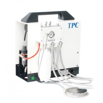 TPC PC2635 Self-contained Portable Dental Delivery Unit with Air compressor