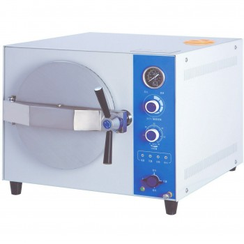 JIBIMED 20L/24L Dental Autoclave Steam Sterilizer Tabletop Sterilization Machine