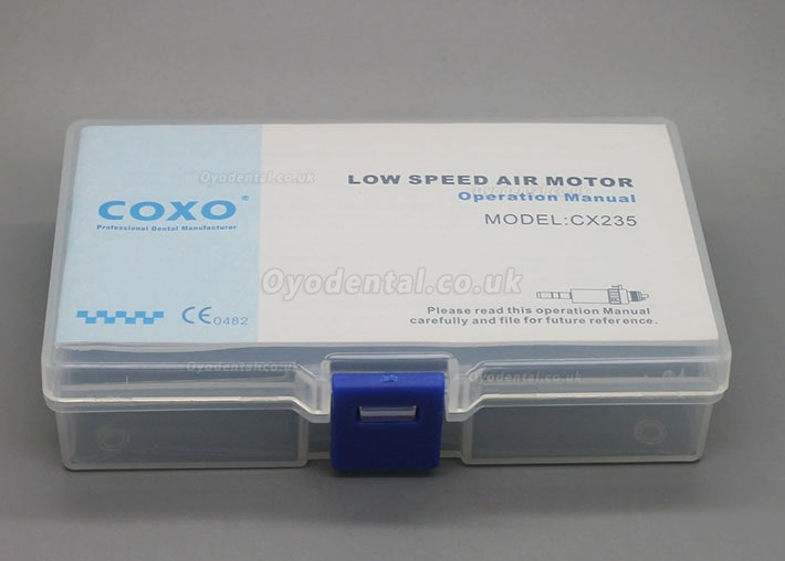 Yusendent COXO Inner Water Slow Speed Air Motor CX235-3B 2/4 Hole